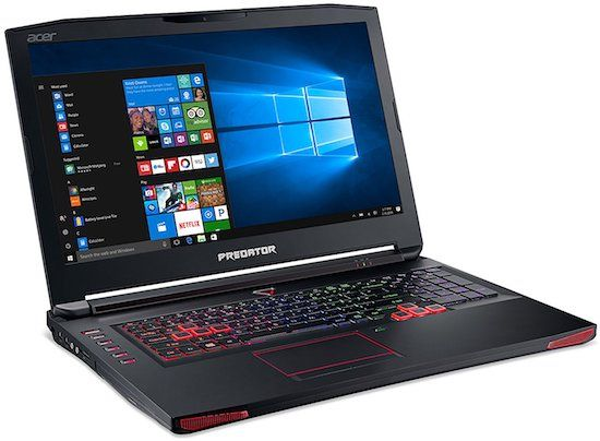 Acer Predator 17 Inch gaming notebook