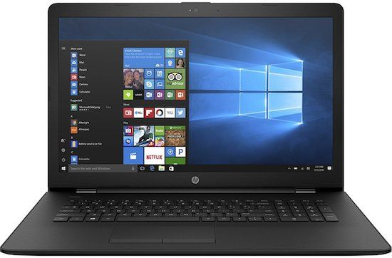 HP Pavilion High Performance 17 inch Laptop