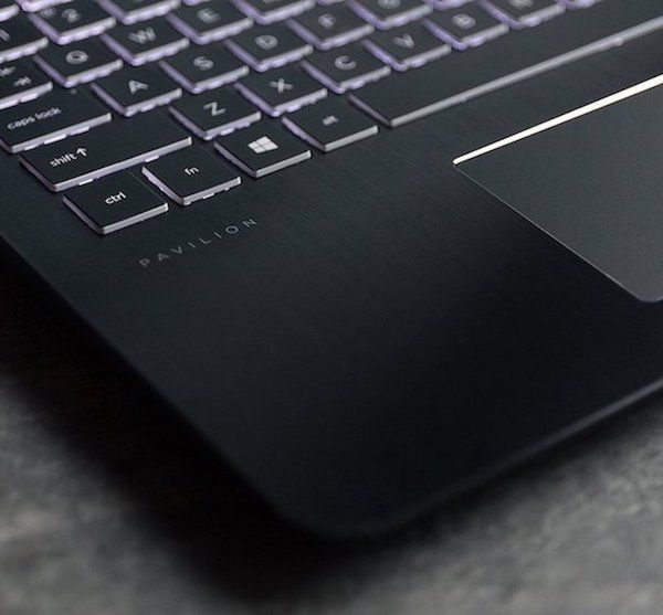 HP Pavilion Power 15 Keyboard and Touchpad review