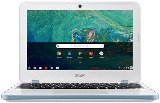 Acer Chromebook CB3-132-C4VV - best cheap chromebook for college