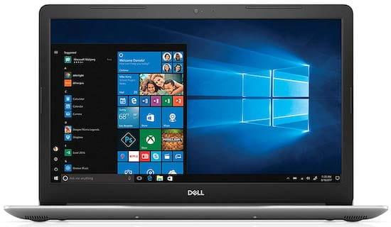 Dell Inspiron i5770 - best 17 inch laptop under $1000