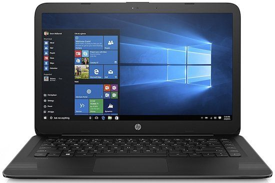 HP 14 inch windows 10 laptop under $200