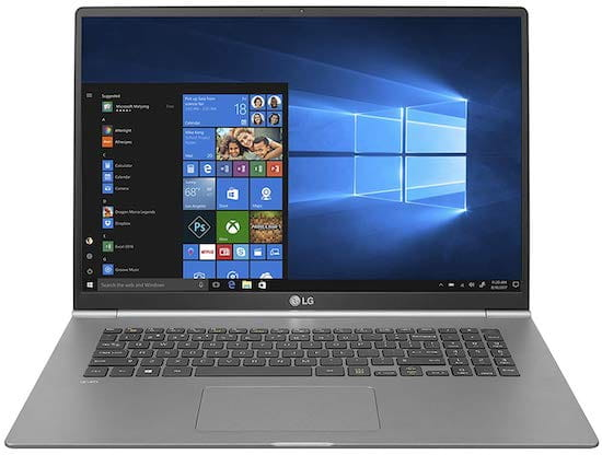 LG Gram 17 - Thin and Light 17-inch Laptop for Programming