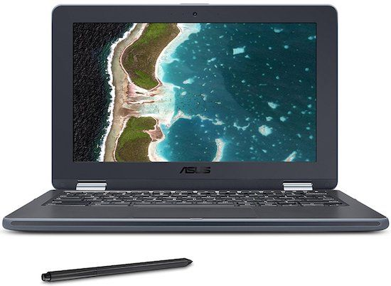 ASUS Chromebook Flip Rugged- best chromebook under $400