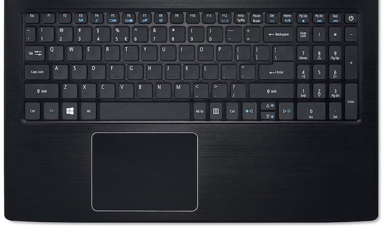 Acer Aspire E 15 Keyboard and Touchpad review