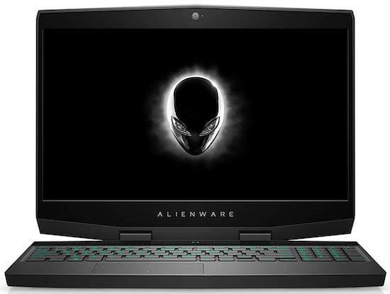 Alienware m15 - le meilleur ordinateur portable pour le collège et les jeux