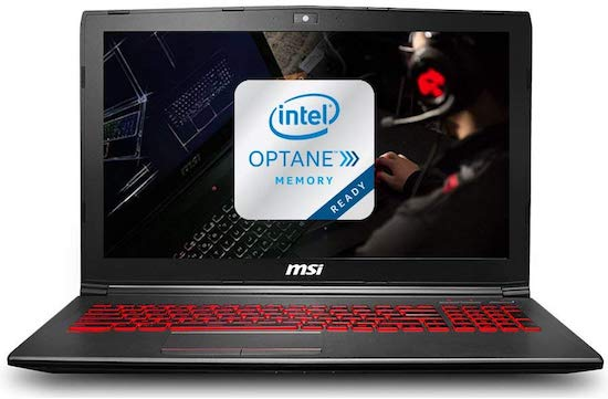 MSI GV62 8RD-276 - affordable laptop for music production