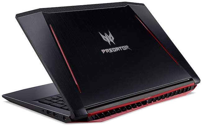 2018 Acer Predator Helios 300 Gaming Laptop - Design