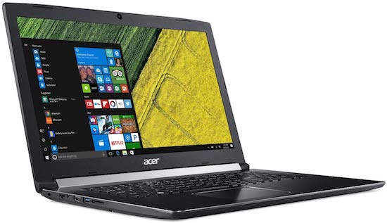 Acer Aspire 5 17-Inch gaming laptop under 800 dollars