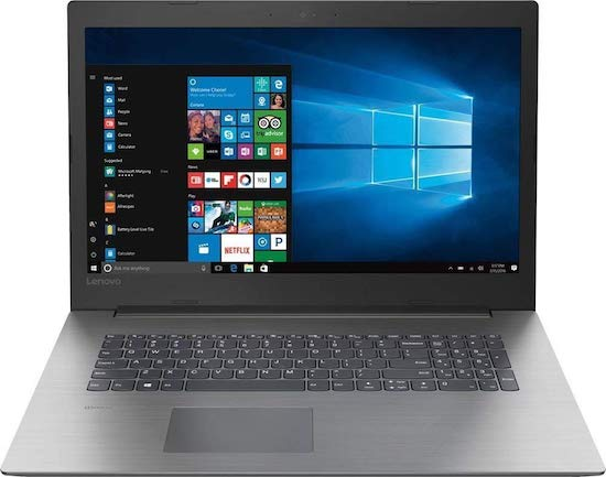 Lenovo Ideapad 330 17-Inch gaming laptop under 800 dollars