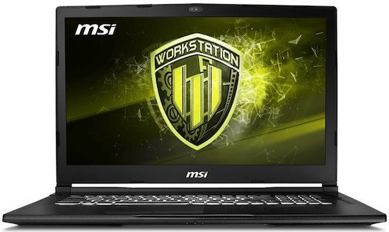 MSI-WE73 High Performance Workstation Laptop (best i7 laptop)