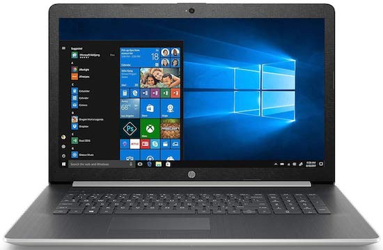 HP Pavilion 17 Inch Laptop - best laptop under 500 dollars