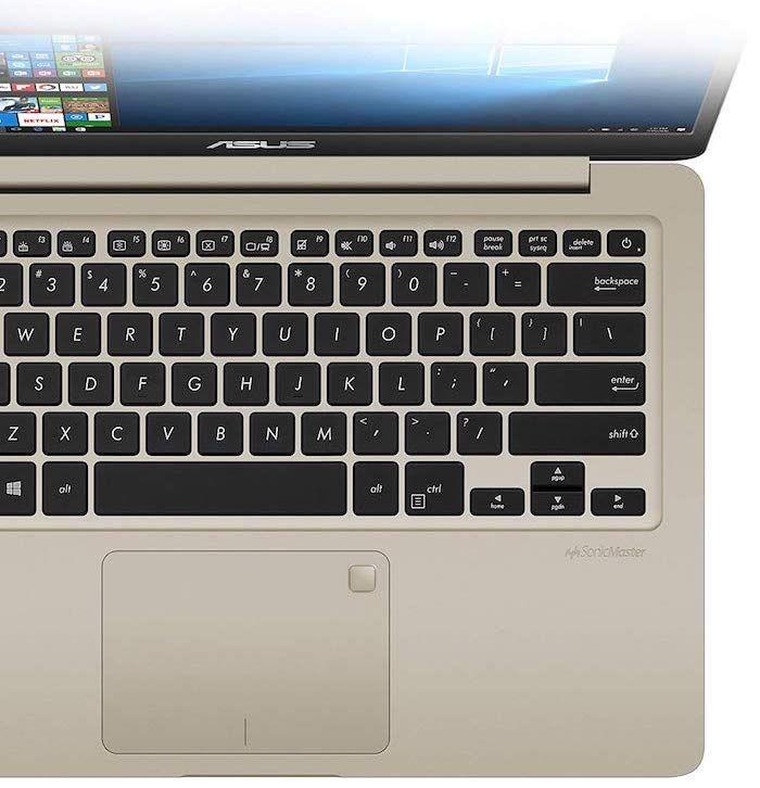 Keyboard and Touchpad of ASUS VivoBook S14 (S410UN-NS74) Ultrabook