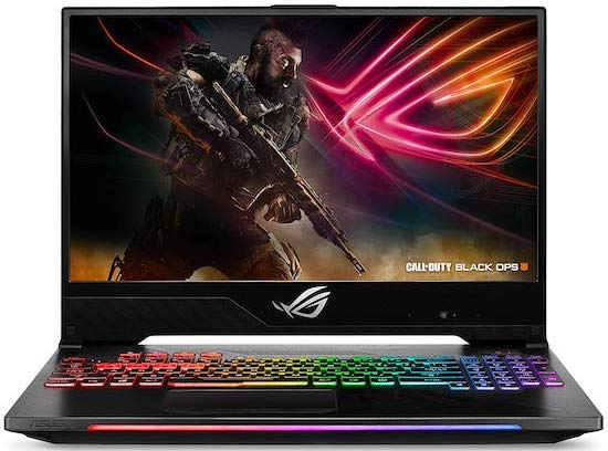 ASUS ROG Strix Hero II Gaming Laptop - best gaming laptops under $1500
