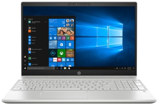 HP Pavilion 15 with AMD Ryzen 5 - best gaming laptop under 500 dollars