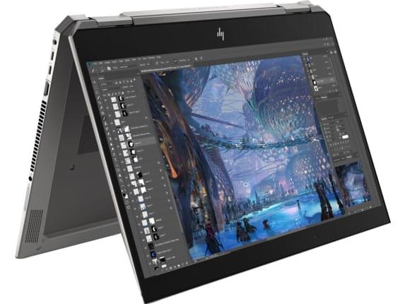 HP ZBook Studio x360 G5 - best laptop for graphic design