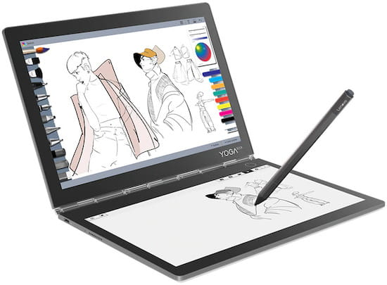 Lenovo Yoga Book C930 - best laptop for artists