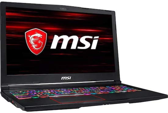 MSI GE63 Raider-011 15-inch Gaming Laptop