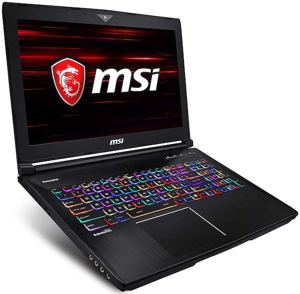 MSI GT63 TITAN 15 Inch hexa core i7 gaming laptop