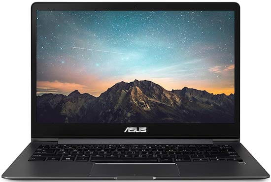 ASUS ZenBook UX331FA-AS51 - best laptop for music students