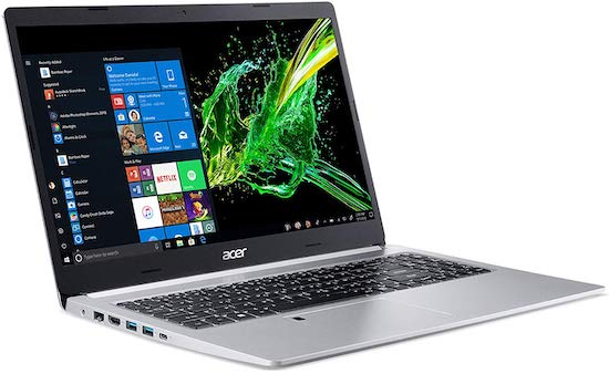 Acer Aspire 5 A515-54G-53H6 - cheap laptop for cad work and 2d modeling for students