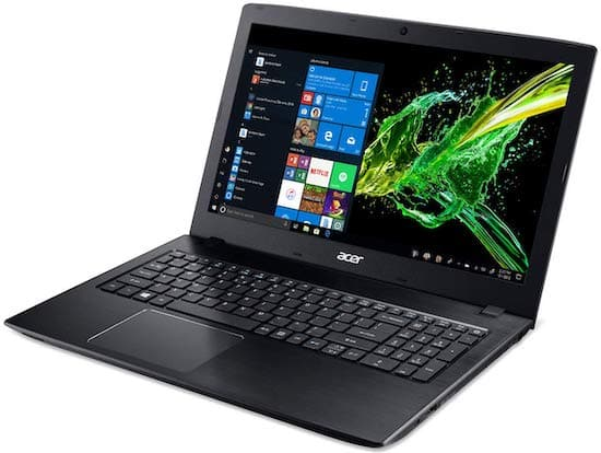 Acer Aspire E 15 Laptop - Affordable desktop replacement laptop under $500