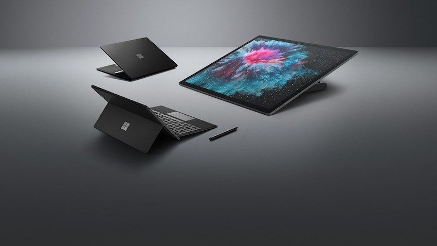 Microsoft Surface Family in New Black Color