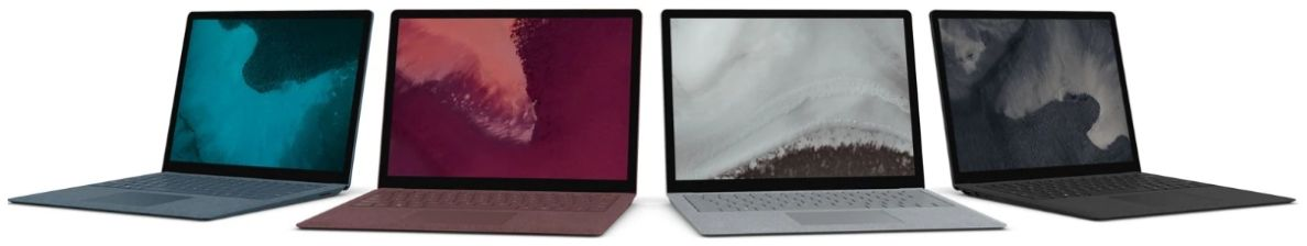 Microsoft Surface Laptop 2 - All New Color Options