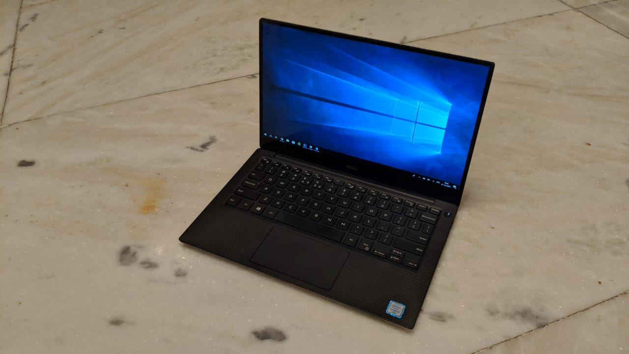 dell xps 13 9370 - keyboard, touchpad and display