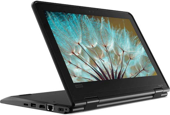 Lenovo ThinkPad Yoga 11e - best budget convertible laptop for writers