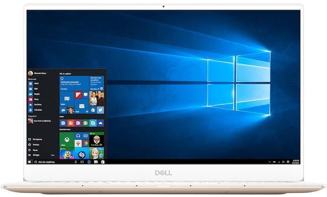 Dell XPS 13 - meilleur ordinateur portable universitaire 2019