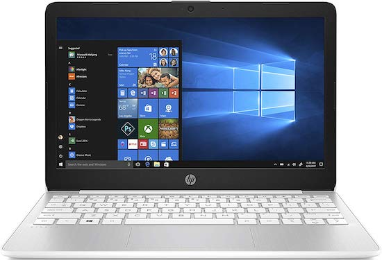 HP Stream 11 Laptop - the best laptop under 200 dollars