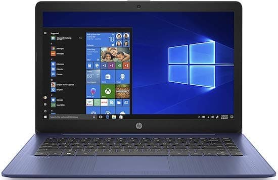 HP Stream 14-ds0050nr - best cheap linux laptop