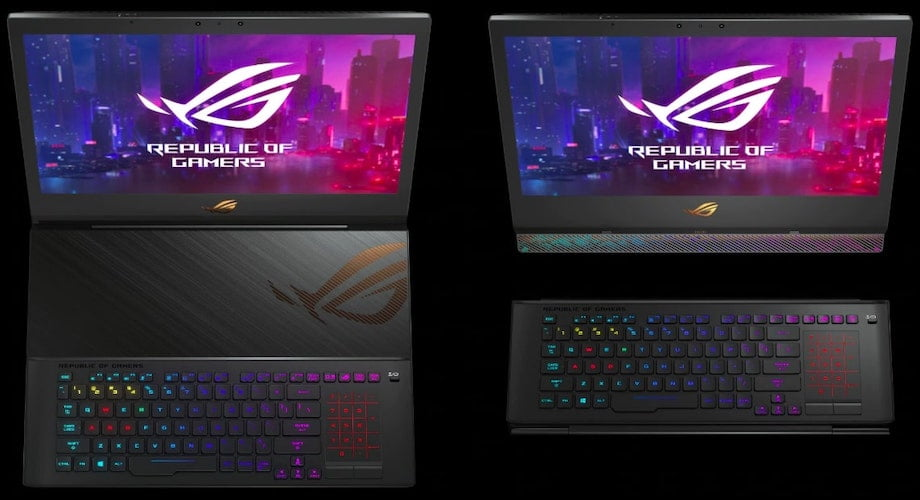 ASUS ROG Mothership Keyboard Style - CES 2019