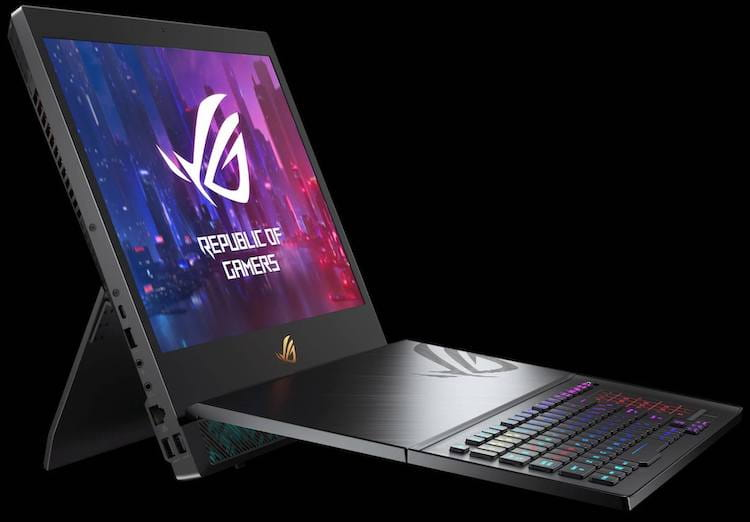 ASUS ROG Mothership from Side - CES 2019
