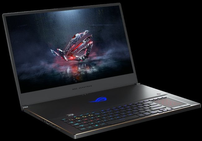 ASUS ROG Zephyrus S GX701 with Nvidia RTX Max-Q GPU