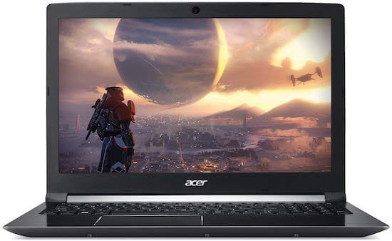 Acer Aspire 7 15 inch Casual gaming laptop under $1000