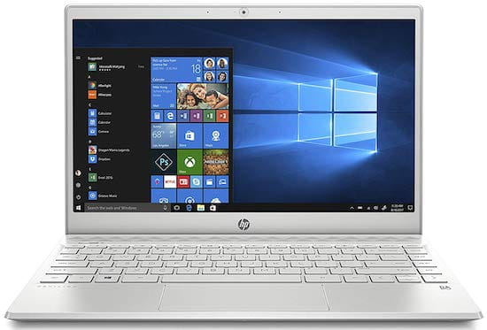 HP Pavilion 13-an0010nr Lightweight Notebook Under $600 for Students