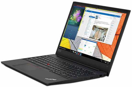 Lenovo Thinkpad E590 - best business laptop for word processing