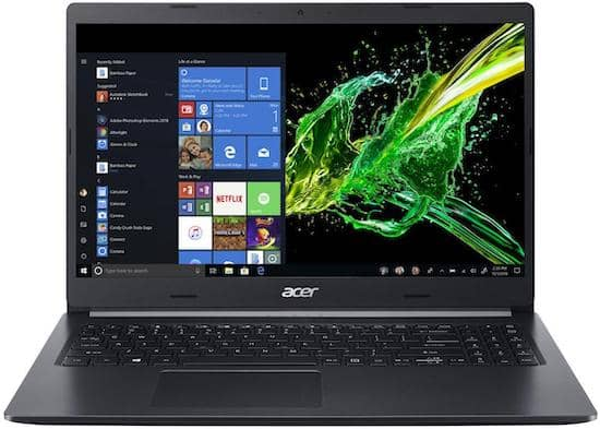 Acer Aspire 5 15-Inch Quad Core Intel i7 Processor Laptop