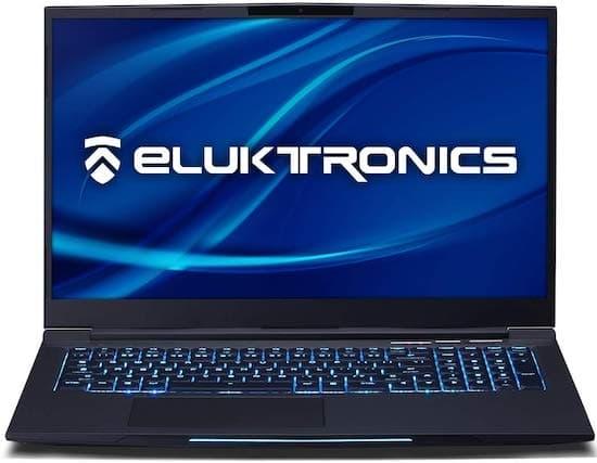 Eluktronics Mech-17 - best gaming laptops under 1500 dollars