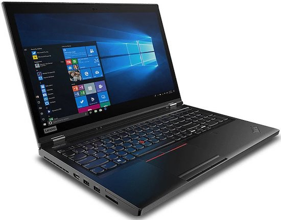 Lenovo ThinkPad P53 - best laptop for solidworks and autocad