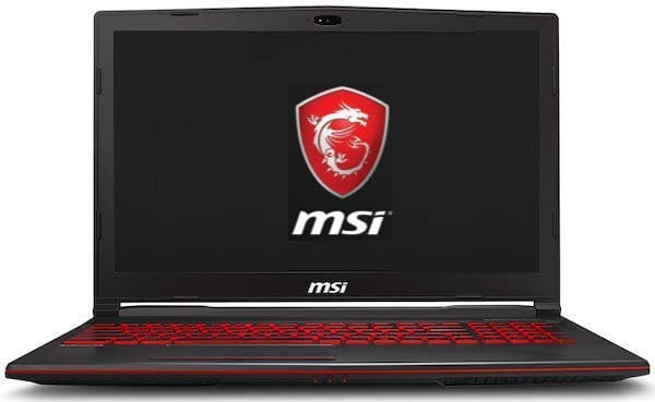 "MSI GV63 8SE-014 15"" High Performance Laptop"