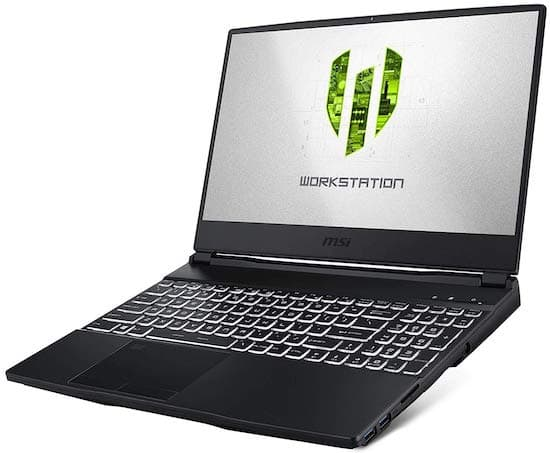 MSI WE65 9TJ-006 High Performance Workstation Laptop (best i7 laptop)