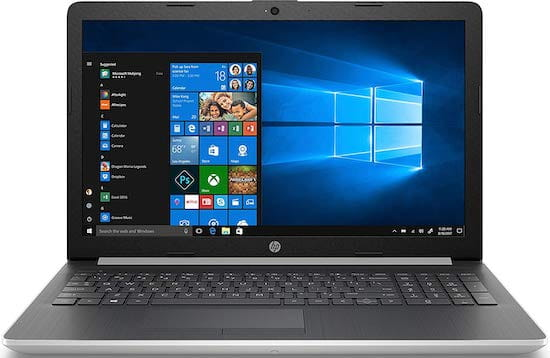 HP 15t (2019) - best gaming laptop under $500