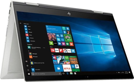 HP Envy x360 15 best convertible laptop for high school students