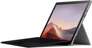 Microsoft Surface Pro 7 - best surface pro 7 bundle deals black friday cyber monday 2019