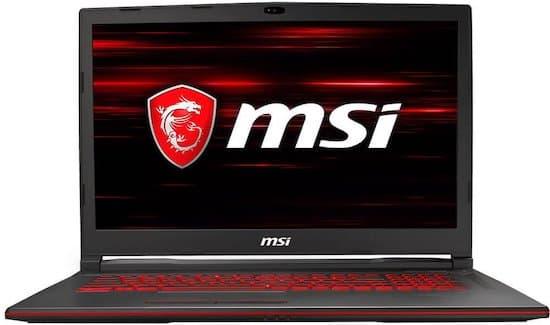 MSI GL73 9RCX-030 17-Inch gaming laptop under 800 dollars