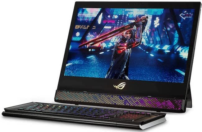 ASUS ROG Mothership Gaming Laptop that Converts like PC