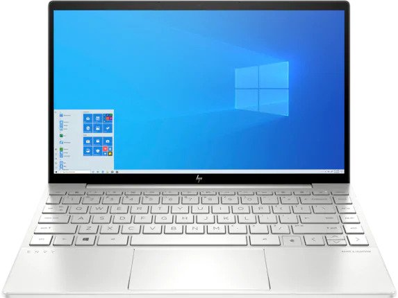 HP ENVY 13 (2020) - best thin and light laptop for programming under $1000